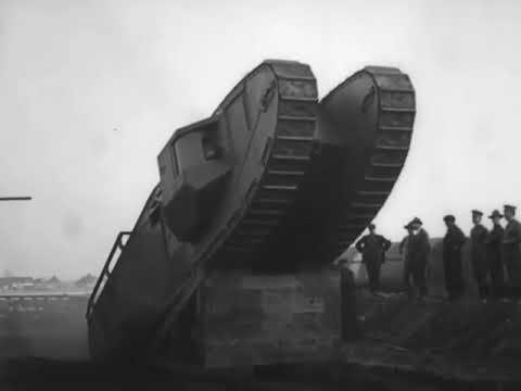 Марк VIII Танк 1918 Испытания и демонстрации армии США по боевым действиям Первой мировой войны