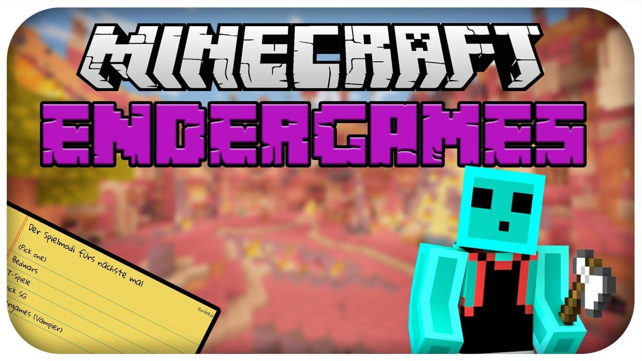 SpielmodiAbstimmungen Minecraft Endergames PvP McTomLP - Minecraft endergames spielen
