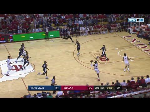 Big Ten Basketball Highlights: Penn State at Indiana