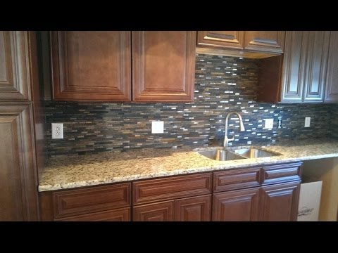 Venetian Ice Granite Transformation in Huntersville 1 17 14  YouTube
