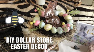 DIY DOLLAR STORE EASTER DECOR