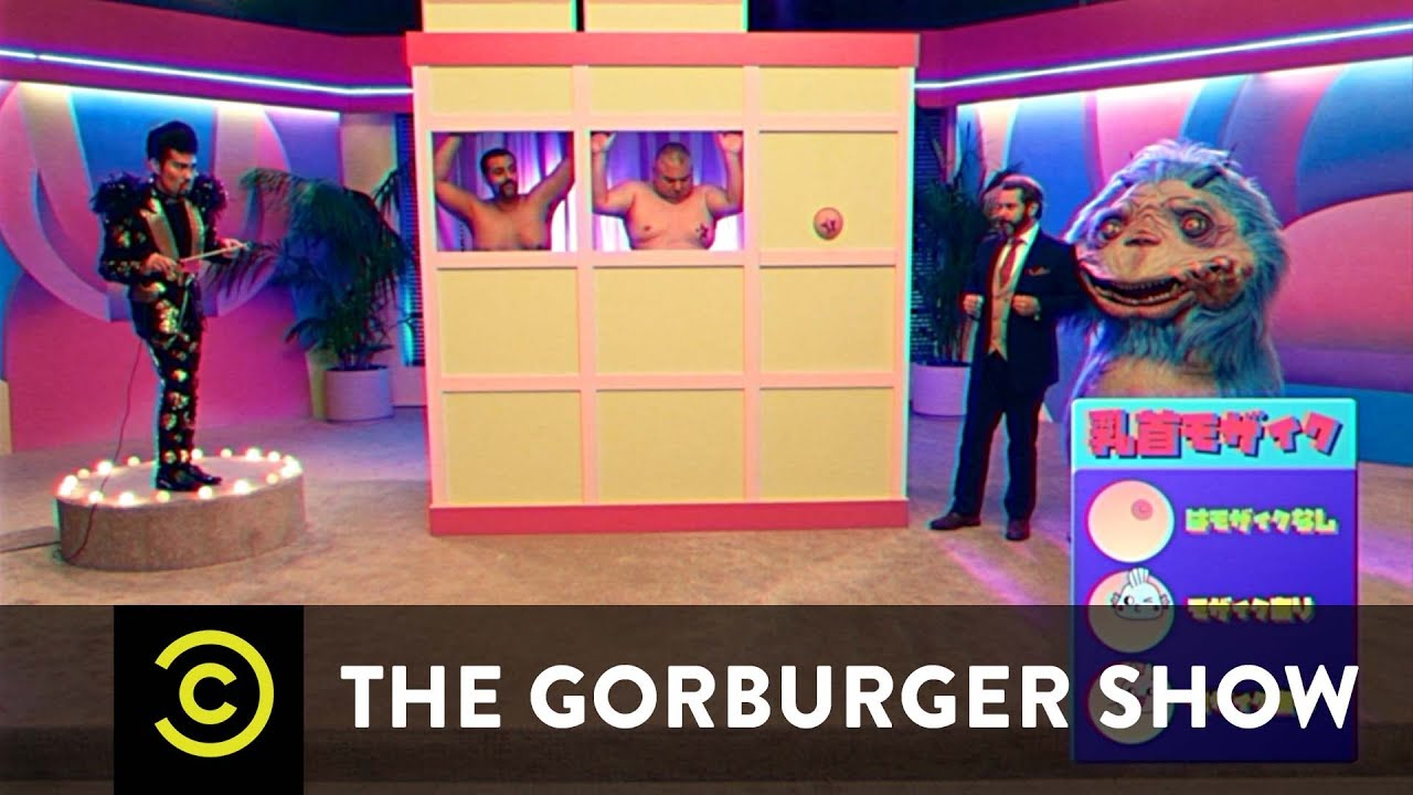 Censor Time Nipple Game – The Gorburger Show – Comedy Central