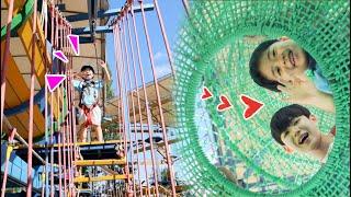 파주 퍼스트가든 어린이 놀이공원 범퍼카 트램펄린 바이킹 놀이기구 같이 놀아요!!Outdoor indoor Playground for kids-마슈토이 Mashu ToysReview