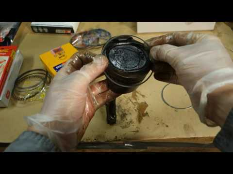 How to replace piston rings Toyota Corolla years 1995 to 2017