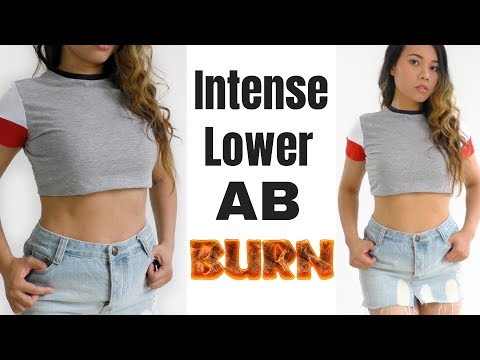 Intense Lower Abs Exercises, No Equipment | Back To School #3