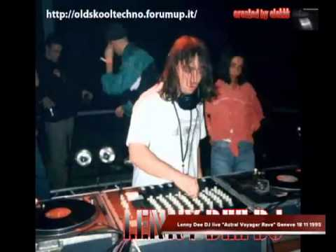 """Lenny Dee DJ live """"Astral Voyager Rave"""" Geneve 18 11 1995"""