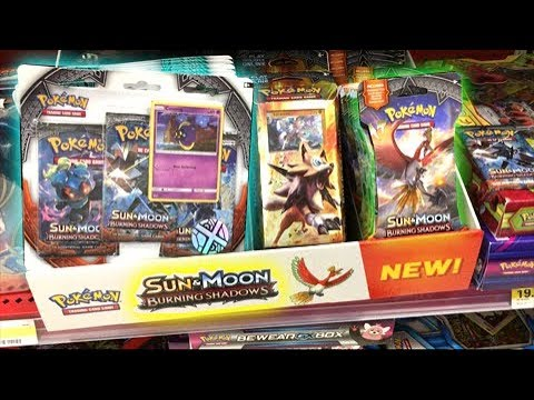 BURNING SHADOWS LAUNCH PARTY! - OPENING POKEMON CARDS AND BOOSTER PACKS WITH LEONHART!