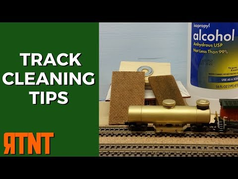 Model Railroad Track Cleaning Tips