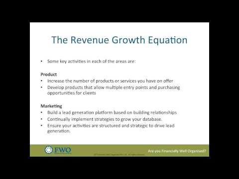 Revenue Growth Equation