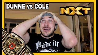 Reaction | WWE United Kingdom Championship | Pete Dunne vs Adam Cole | NXT March 14, 2018
