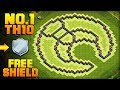 BEST TH10 FARMING BASE + PROOF! | Moon | CoC Town Hall 10 FREE SHIELD Base | Clash of Clans