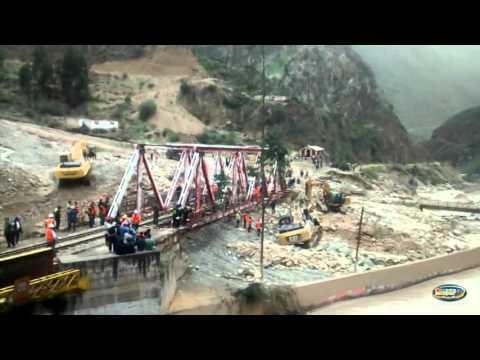 Emergencia en Carretera Central - Carretera Central seguirá bloqueada Marzo