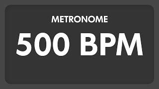 500 BPM - Metronome