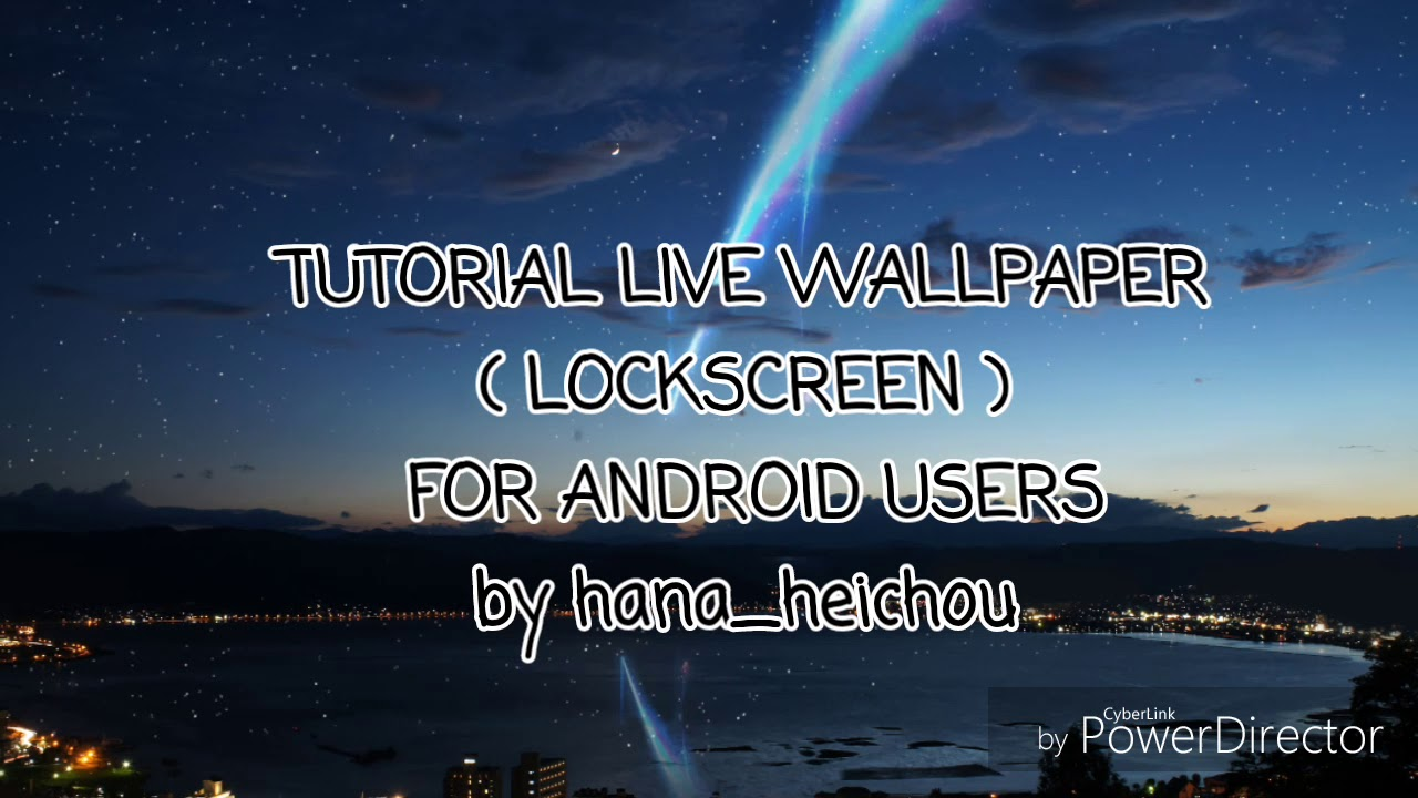Live Wallpaper Lockscreen For Android Users Youtube