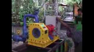 Pelton HeksaHydro® Turbine NTUA-140 series (Ballast load bench test)