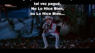 No Lo Hice Bien ( video oficial con letra) - Los Plebes Del Rancho De Ariel Camacho