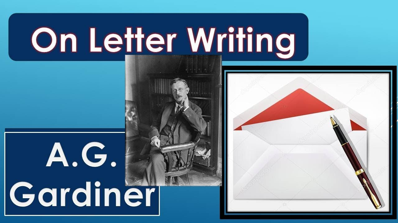 On letter writing alpha of the plough
