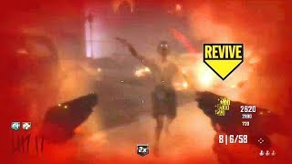 HOW DID HE NOT GO DOWN! Zombies Moments #96 Call of Duty Black Ops 3 2 1 Gameplay