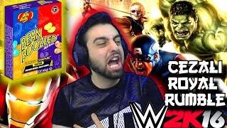Video WWE 2K16 Cezali Royal Rumble | Igrenc Sekerler Bean Boozled | Süper Kahramanlar | Ps4 download MP3, 3GP, MP4, WEBM, AVI, FLV September 2018