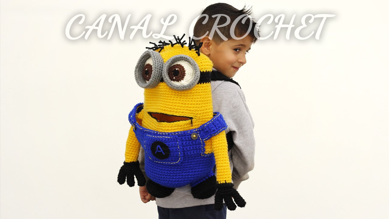mochila minions tutorial - YouTube