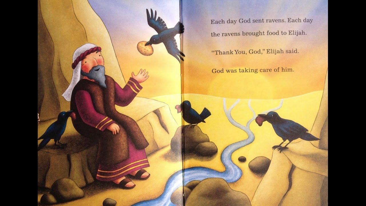 children u0027s bible stories ravens feed elijah toddlers 42 2 fish