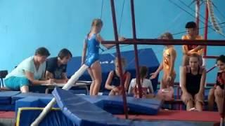 Областные соревнования по спортивной гимнастики среди юниоров.Рубежное.