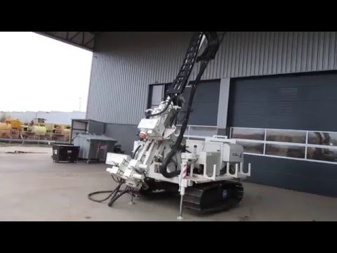 Boart Longyear DB520 Drill Rig - test