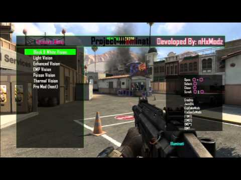 Project Illuminati - Mod Menu Showcase + Download - BO2/GSC/1.19/PS3/XBOX-360