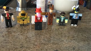 Unboxing Roblox Toys!