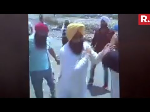 AAP MLA  Attacked By Mining Mafia In Punjab | Caught On Camera