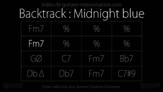 Midnight Blue (Kenny Burrell) : Backing track