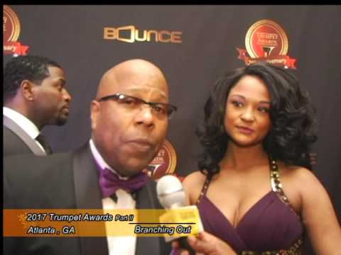 2017 25th Annual Trumpet Awards Red Carpet on Branching Out TV Part 2