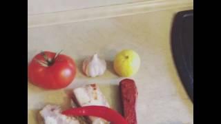 Готовим мясо косули часть 1