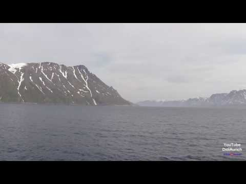 Norwegen Postschiff Hurtigruten MS Nordlys Hammerfest nach Loppa Øksfjord Finnmark Hurtigruta