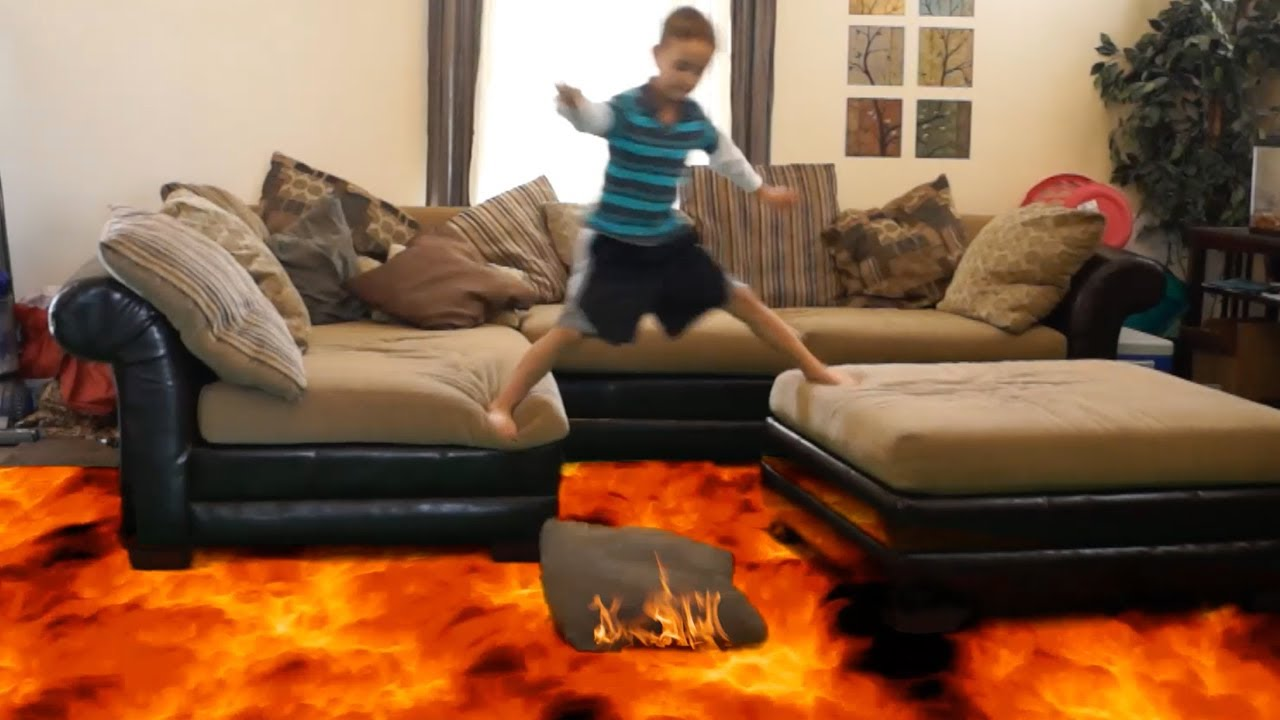 The floor is hot lava!
