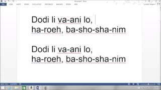 Dodi Li Full Song
