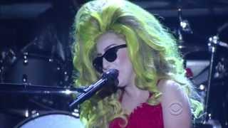 (HD) Lady Gaga Dope - David Letterman  04 02 2014 1080p
