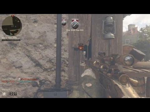 Call of Duty®: WWII 20-0 with sniper only
