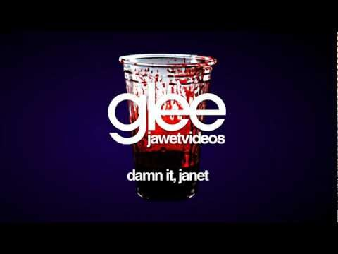 Glee Cast - Damn It, Janet (karaoke version) mp3
