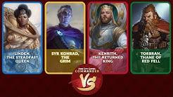 Commander VS S17E4: Linden VS Syr Konrad VS Kenrith VS Torbran [EDH]