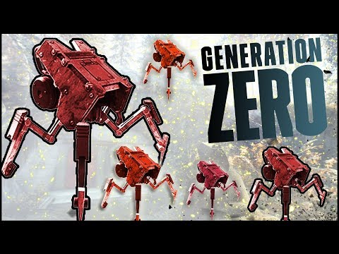 SECRET BUNKER & NEW ENEMY THREAT! - Generation Zero Gameplay Part 3