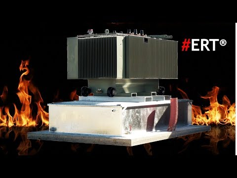 Oil Transformer Explosion And Fire Extinguishing Retention ERT Tanks And Bunding Solutions SANERGRID