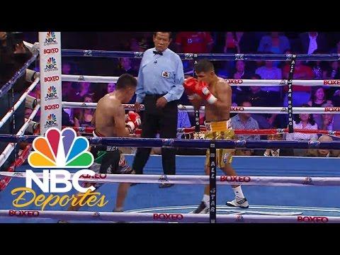 Severo Carmona vs. Meserito Rodríguez (Pelea completa) | Boxeo Telemundo | NBC Deportes