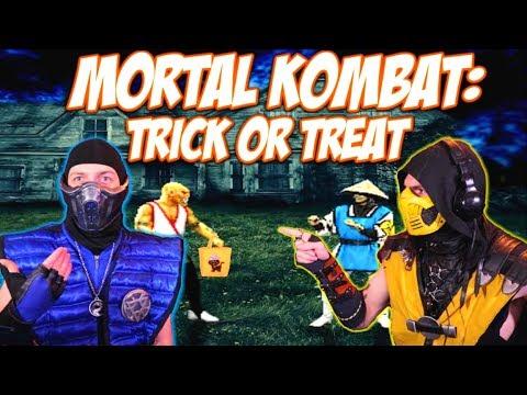 Scorpion & Sub-Zero REACT - MORTAL KOMBAT - EP #02 TRICK OR TREAT | MKX PARODY! thumbnail