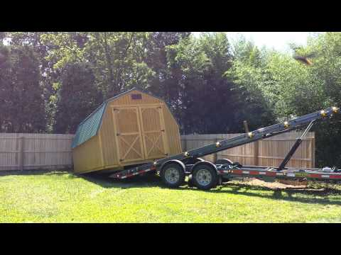 Graceland portable building delivery and setup (shed) | Doovi