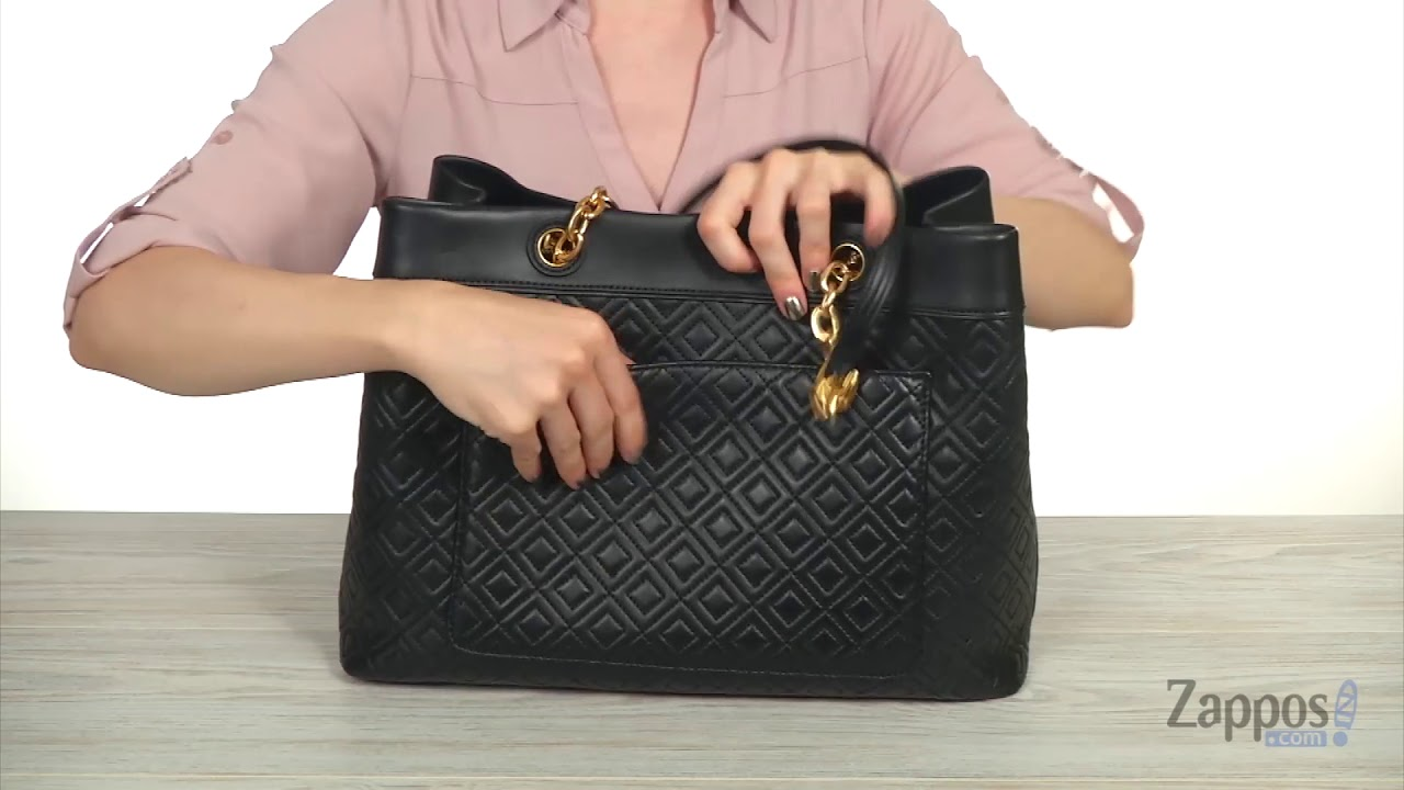 7e8229f490ee4 Tory Burch Fleming Triple-Compartment Tote SKU  9057511 - YouTube