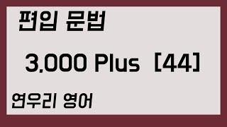 편입 문법 3,000 Plus44