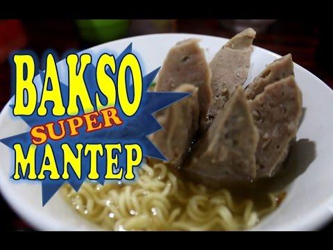 Makan Bakso Luwes Solo mantep - Bekasi Street Food