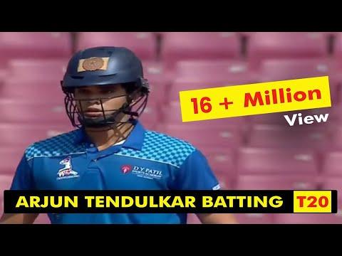 Arjun Tendulkar  Batting  |  T20 LEAGUE 2019