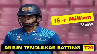 Arjun Tendulkar  Batting  |  T20 LEAGUE 2019